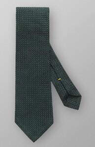 Eton Uni Structured Grenadine Tie Donker Groen
