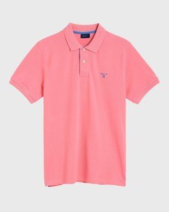 Gant Contrast Collar Piqué Pink Rose
