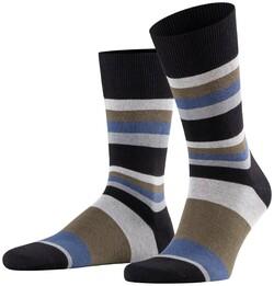 Falke Filter Stripe Blauw-Blauw