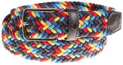 Paul & Shark Braided Multicolor Belt Multicolor