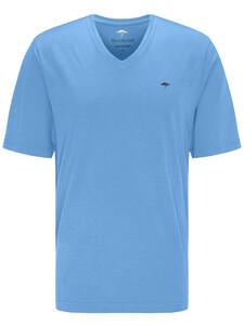 Fynch-Hatton V-Neck T-Shirt Soda