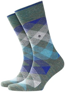 Burlington Newcastle Socks Ivy Green