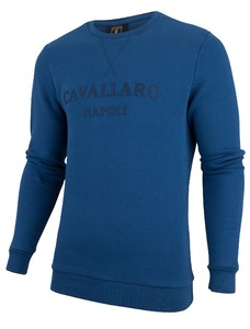 Cavallaro Napoli Morki Sweat Blauw
