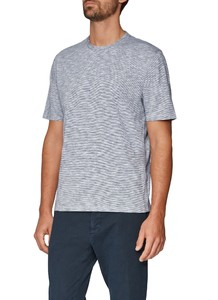 Maerz Faux Uni T-Shirt Navy