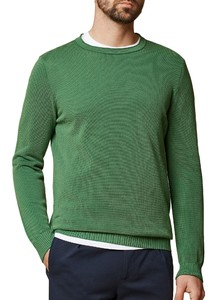 Maerz Uni Cotton Round Neck Spanish Green
