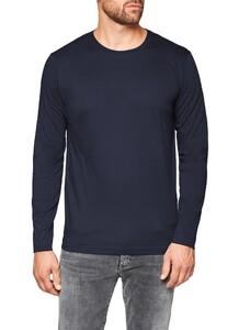Maerz Uni Long Sleeve T-Shirt Navy