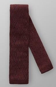 Eton Knitted Tie Donker Paars Melange