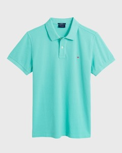 Gant Gant Piqué Polo Pool Green