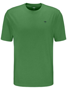 Fynch-Hatton Ronde Hals T-Shirt Appel