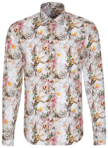 Jacques Britt Casual Stylish Floral Bruin
