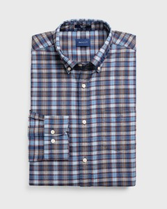 Gant Tech Prep Indigo Check Persian Blue