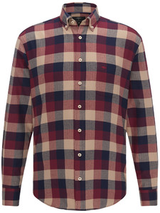 Fynch-Hatton Heavy Flannel Check Zinfandel