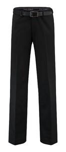 Com4 Flat-Front Wool All Season Zwart