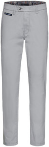 Gardeur Benny-3 Contrasted Pima Cotton Flex Light Grey
