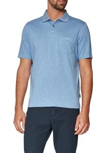 Maerz Uni Contrast Collar Whispering Blue