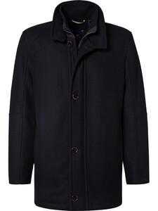 Pierre Cardin Wool Coat Black
