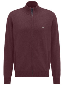 Fynch-Hatton Cardigan Zip Zinfandel