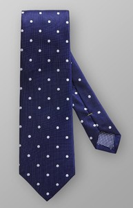 Eton Polka Dot Tie Dark Navy