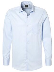 Pierre Cardin Subtle Stripe Kent Licht Blauw