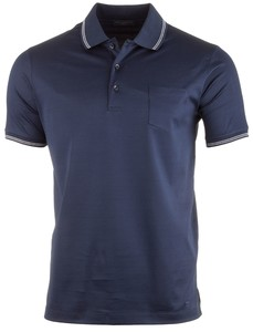 Paul & Shark Super Flat Mercericed Polo Navy