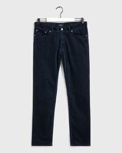 Gant Slim Corduroy Jeans Navy