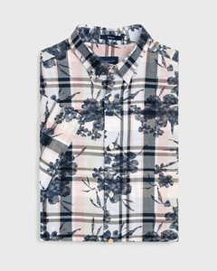 Gant Printed Indigo Plaid Wit