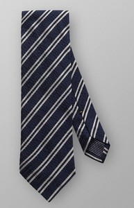 Eton Diagonal Multi Stripe Dark Navy