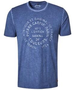 Pierre Cardin T-Shirt Denim Academy Jeans Blauw