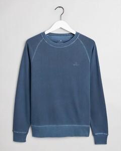 Gant Sunfaded C-Neck Sweat Insignia Blue