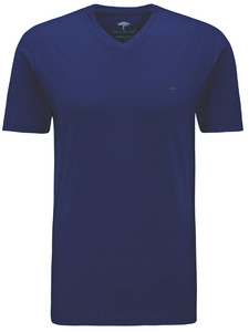 Fynch-Hatton V-Neck T-Shirt Midnight