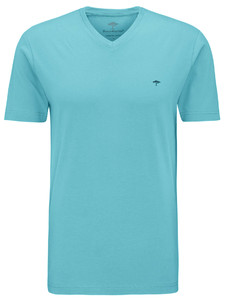 Fynch-Hatton V-Neck T-Shirt Pool
