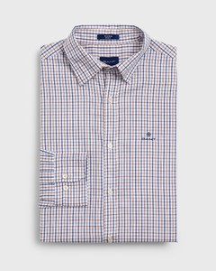 Gant Tech Prep Twill Check College Blue