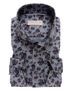 John Miller Fashion Style Flower Midden Grijs