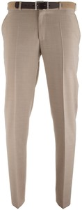MENS Madrid Pantalon Zomerwol Khaki
