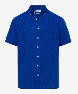 Brax Drago Short Sleeve Blauw