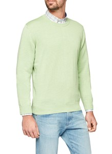 Maerz Round Neck Merino Superwash Apple Green