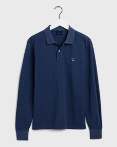 Gant The Original Piqué Rugger Blue Melange