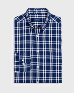 Gant Windblown Oxford Check Persian Blue
