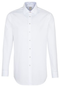 Jacques Britt Slim Uni Twill White