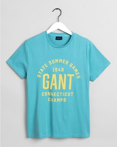 Gant Summer Graphic Aqua