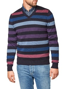 Maerz Striped Merino Navy
