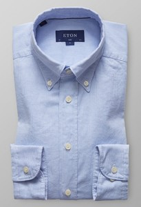 Eton Slim Uni Royal Oxford Diep Blauw