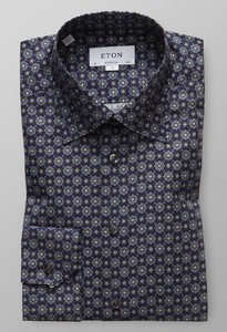 Eton Medallion Fantasy Dark Navy
