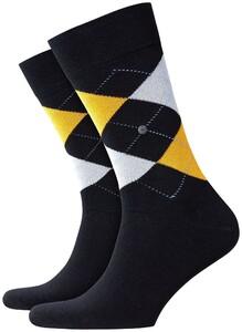 Burlington King Socks Mixed Black