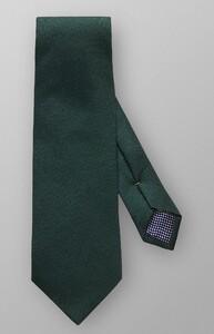 Eton Basket Weave Tie Donker Groen Melange
