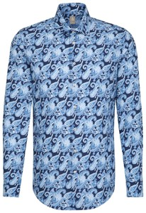 Jacques Britt Paisley Fantasy Business Donker Blauw