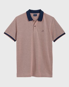 Gant Four Color Oxford Piqué Coral Orange
