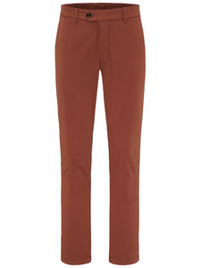 Fynch-Hatton Togo All Season Chino Garment Dyed Burnt Sienna