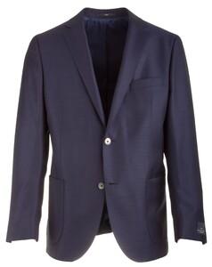 EDUARD DRESSLER Sendrik Shaped Fit Soft Blazer Blauw