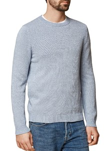 Maerz Pullover Cotton R-Neck Cornflower